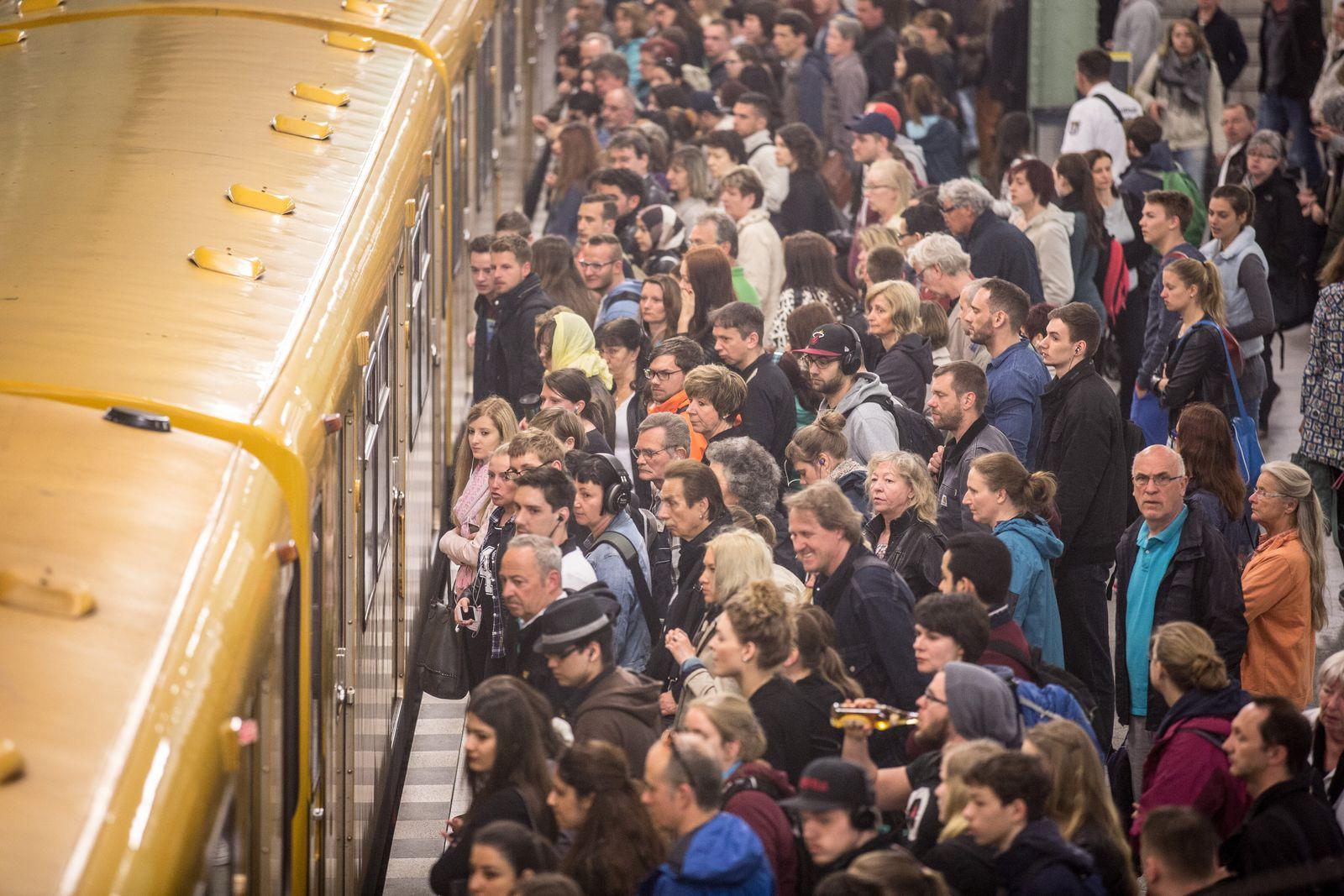 Streik der Lokführer - Berlin Nahverkehr
