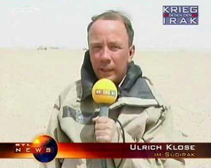 """""""Embedded journalist"""" Klose: So stolz, dass er gelegentlich vergisst, wo er ist und was er machen soll"""