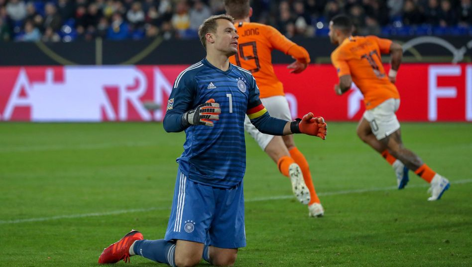 Manuel Neuer, jubelnde Niederländer
