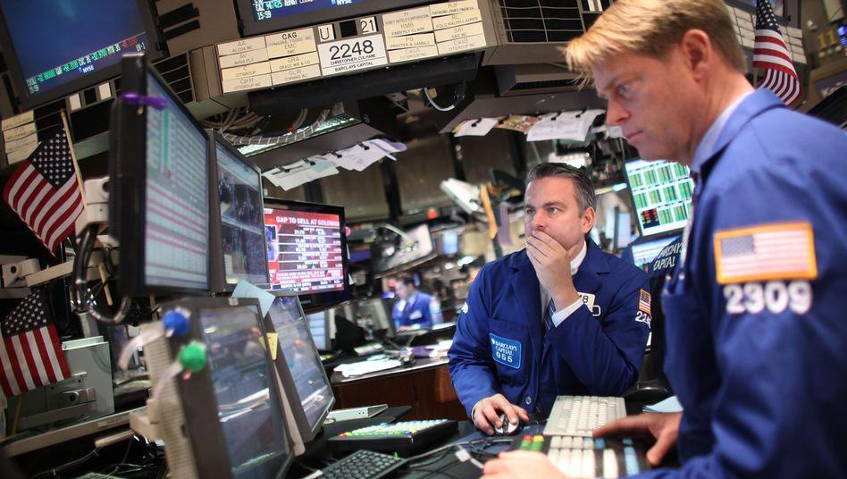 Händler an der Börse in New York: Wie groß ist das griechische Risiko?