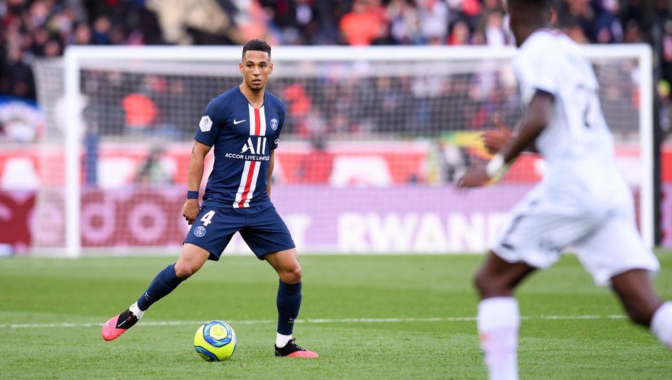Thilo Kehrer im Ligue-1-Spiel gegen Dijon