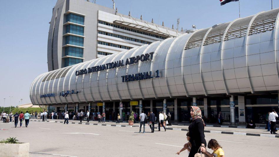 Flughafen in Kairo