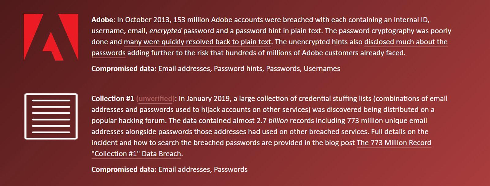 EINMALIGE VERWENDUNG Screenshot / Collection 1 Hacker