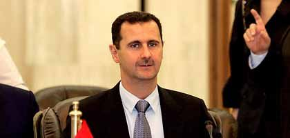 "Syrian President Bashar Assad: ""Just this morning, I saw the picture of a three-year-old girl who was killed. Where is the West's outcry?"""
