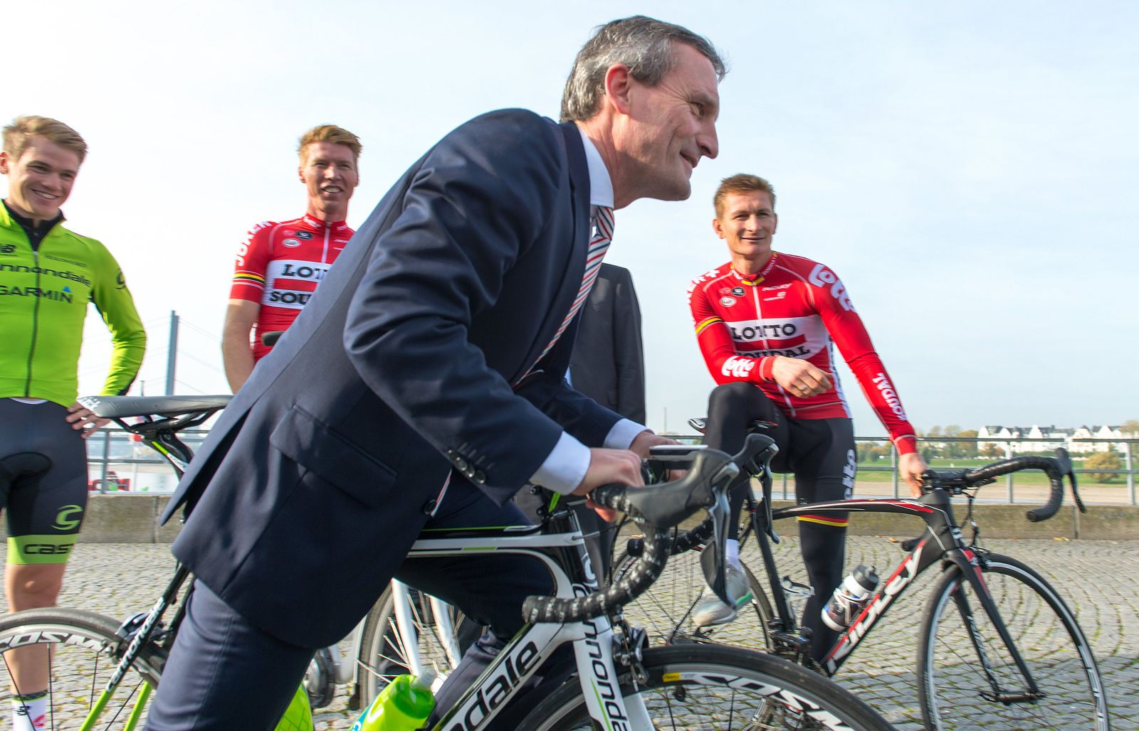 Düsseldorfs Bewerbung für Tour de France