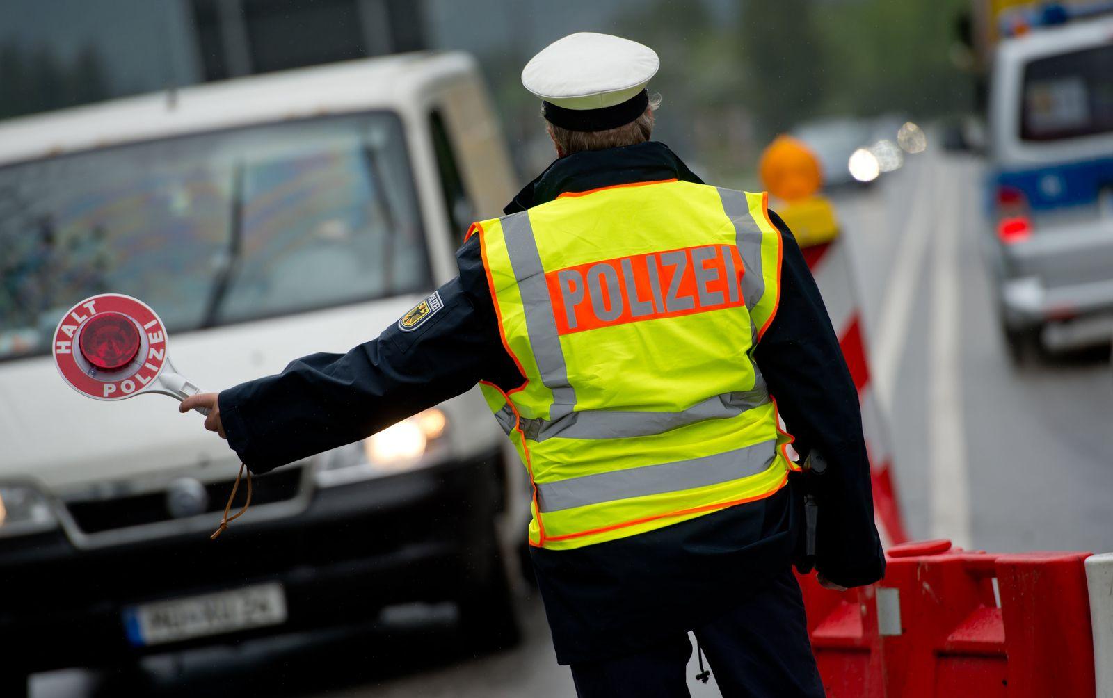 Bundespolizei/ Grenzkontrollen/