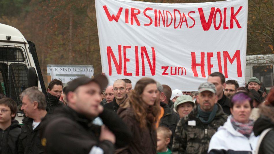 Demonstranten im November 2014 in Berlin: Rassismus, legitimer Protest, beides?
