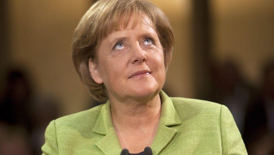 Bundeskanzlerin Merkel (CDU): Umfragen prophezeien Verluste - und einen Wahlsieg