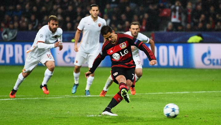Fotostrecke: Acht Tore in Leverkusen