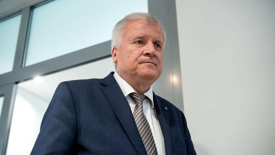 Horst Seehofer, CSU-Vorsitzender und bayerischer Ministerpräsident