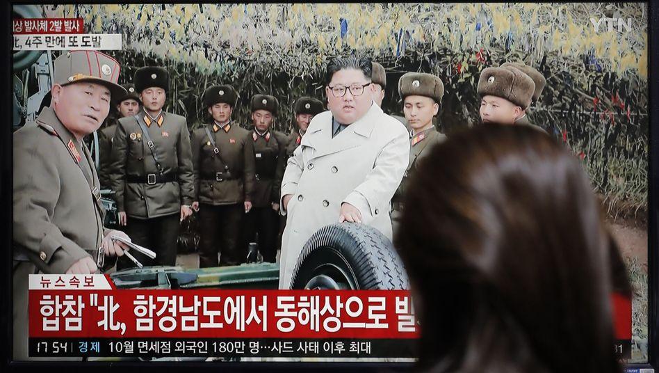 Kim Jong Un im südkoreanischen Fernsehen: Was will er mit seiner Frist bewirken?