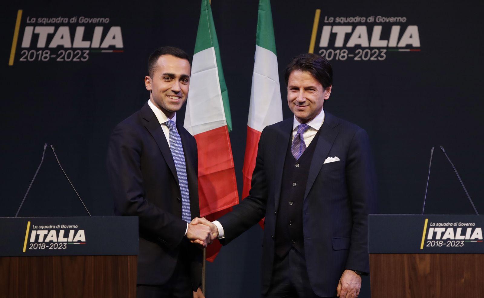 Italien/ Luigi Di Maio/ Giuseppe Conte