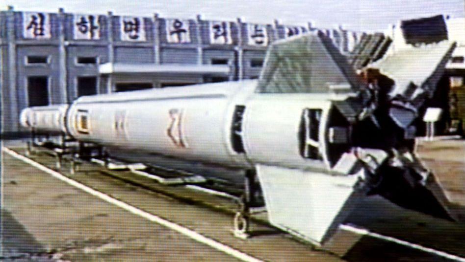 Nordkoreanische Taepodong-1-Rakete