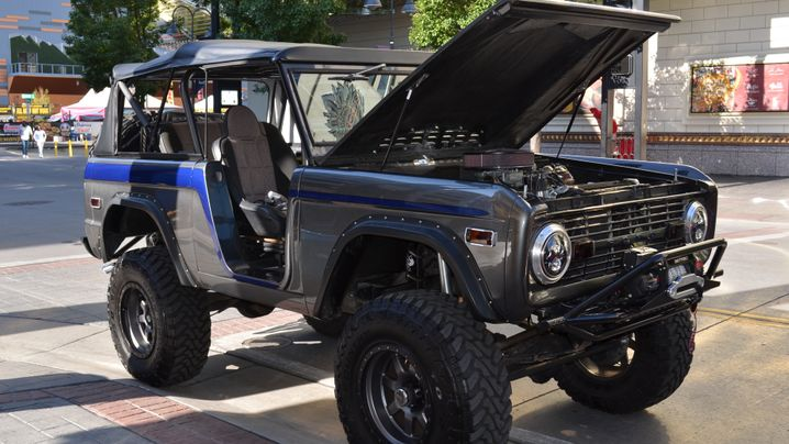 Ford Bronco Ranger XLT: Baby you can drive my car