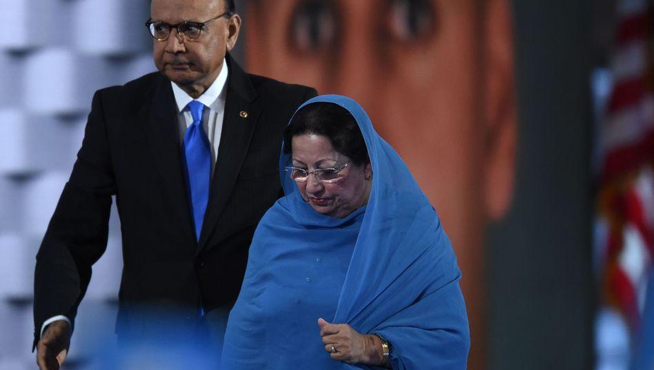 Ghazala Khan suchte nach Trumps Angriff den Weg in die Öffentlichkeit
