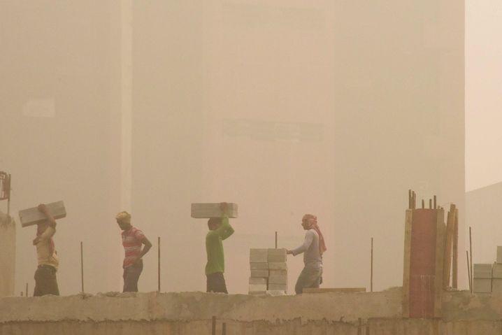 Smog in New Delhi