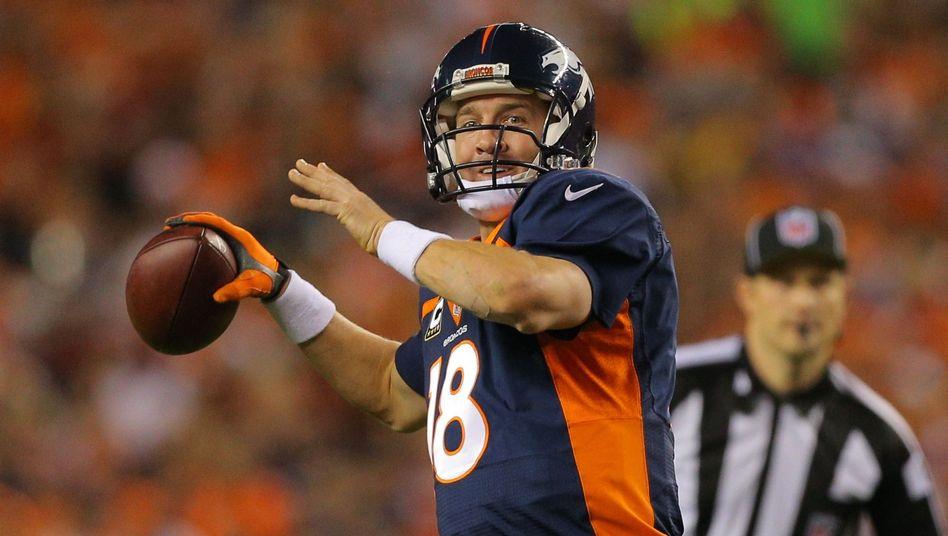 Quarterback Peyton Manning: 510 Touchdown-Pässe