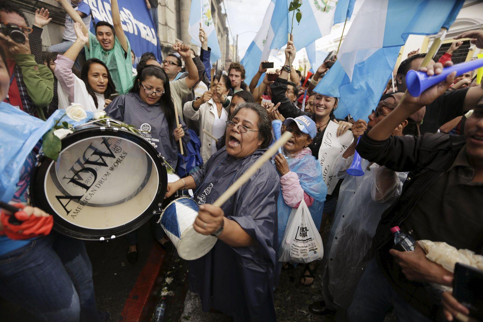 Guatemala Präsident Perez