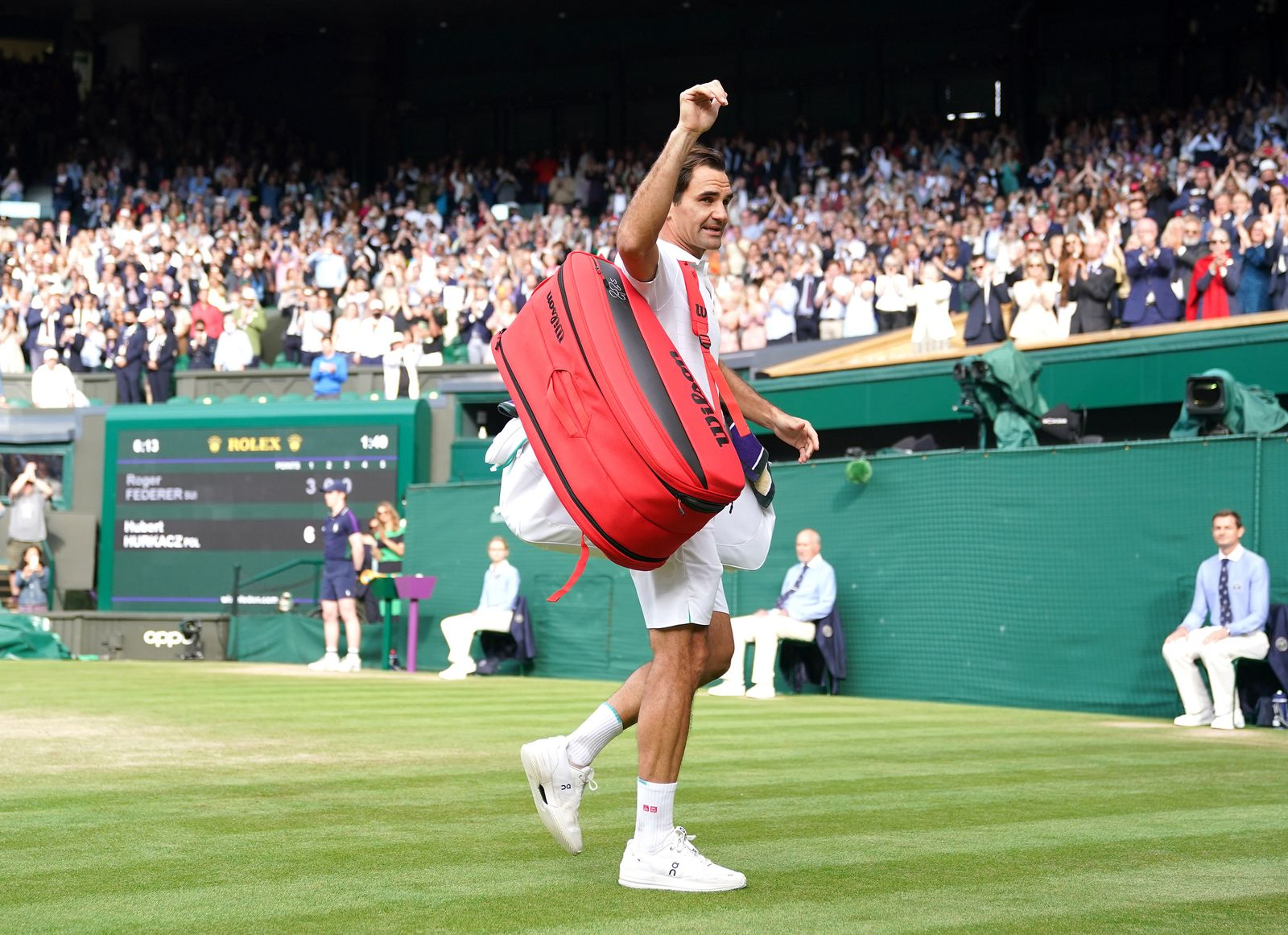 Wimbledon 2021 - Day Nine - The All England Lawn Tennis and Croqu
