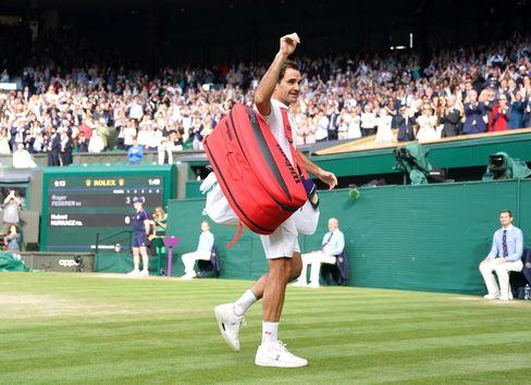 Man sieht sich: Roger Federer wird nach seinem Wimbledon-Aus eine Wettkampfpause einlegen