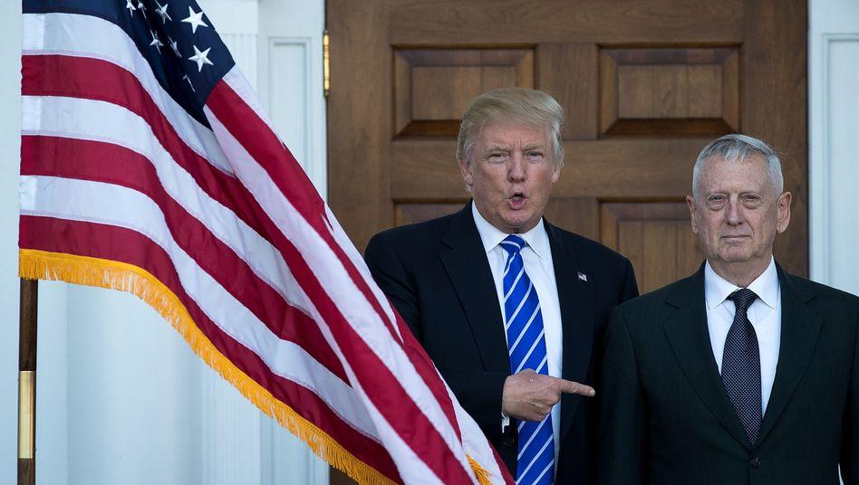 Neues US-Kabinett: Ex-General Mattis soll Verteidigungsminister werden