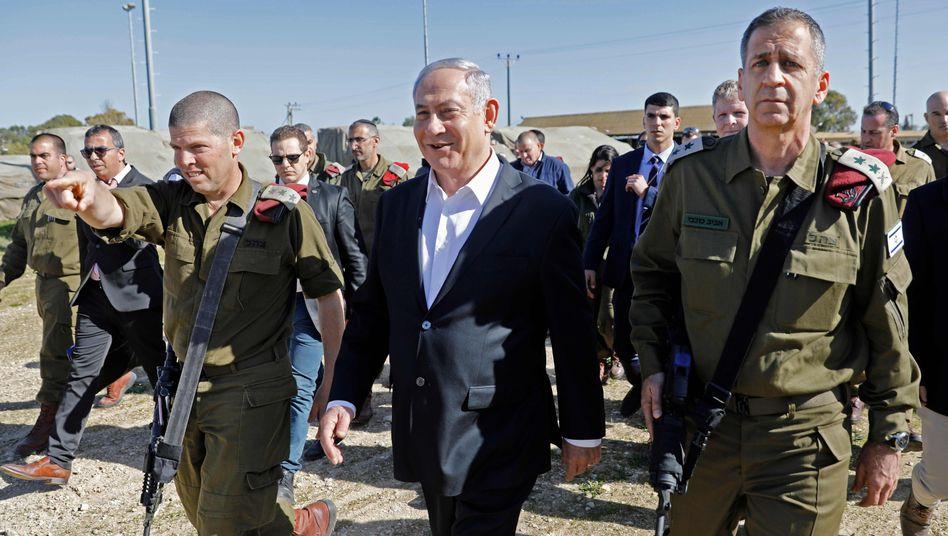 Aviv Kochavi wirft Iran vor, fortgeschrittene Waffensysteme in den Irak zu schmuggeln