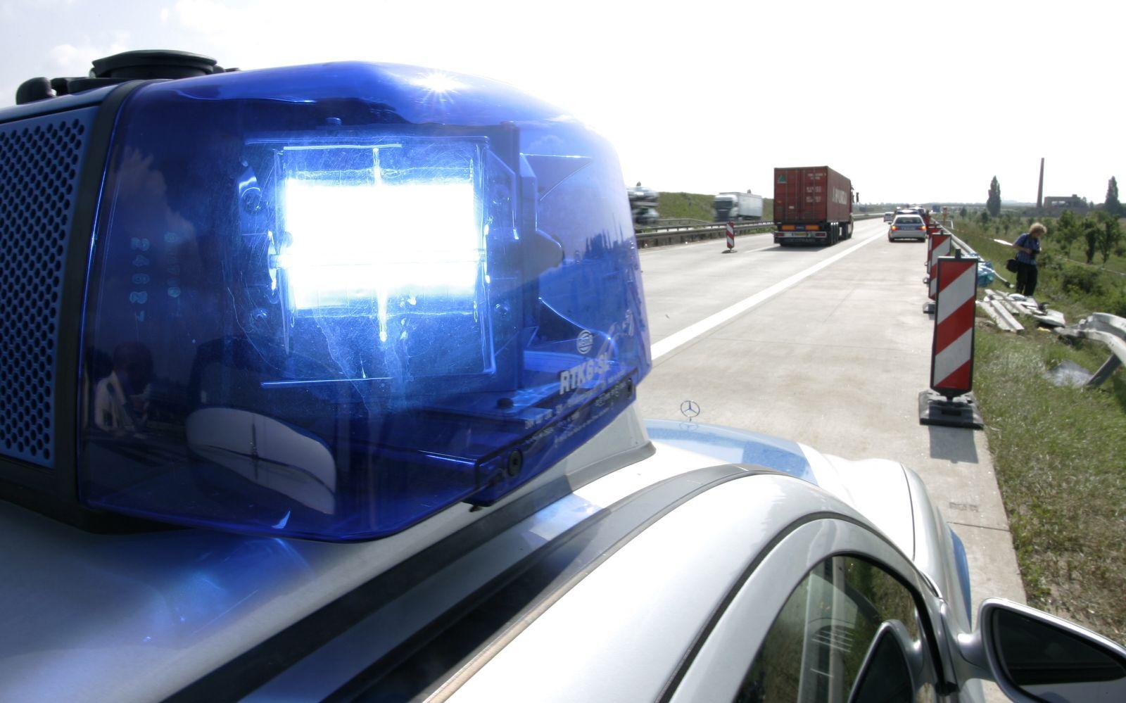 NICHT VERWENDEN Polizei / Blaulicht