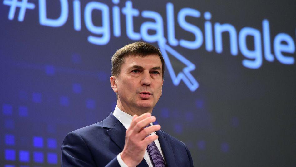 """EU-Vizekommissions-Präsident Andrus Ansip: """"Ich hasse Geoblocking aus tiefstem Herzen"""""""