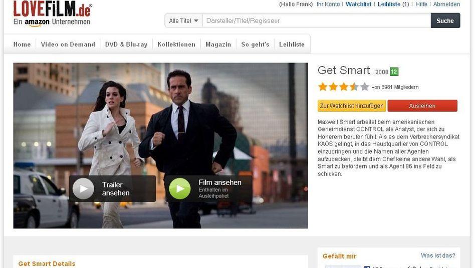 Amazon-Dienst Lovefilm (Archivbild)