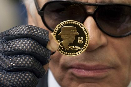 """Karl Lagerfeld: """"More wealth than in 1929"""""""