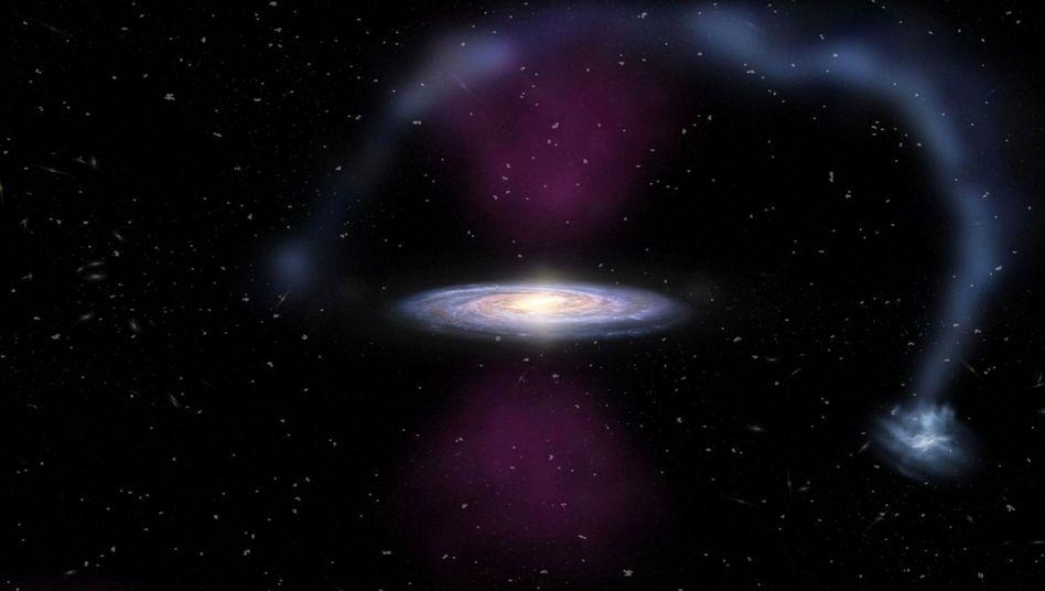 Milchstraße: Forscher weisen gewaltige Explosion im Zentrum unserer Heimatgalaxie nach