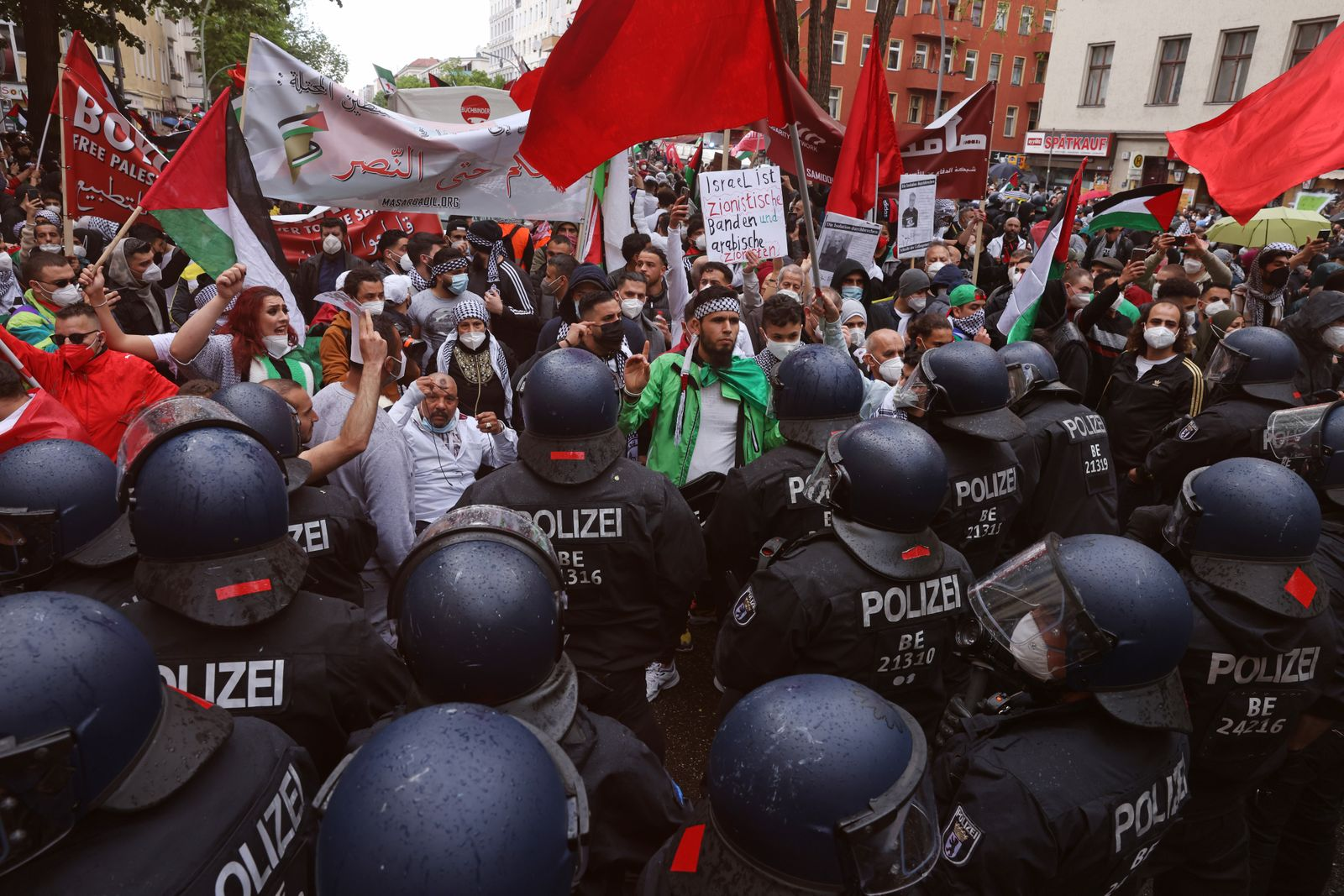 Pro-Palestinian Protests In Berlin