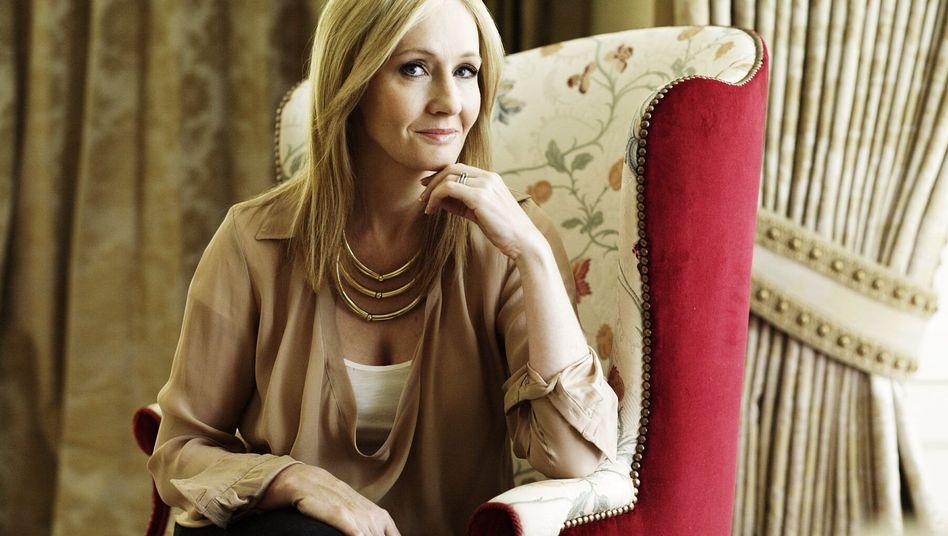 Schriftstellerin J. K. Rowling: Deutschsprachige Startauflage 500.000 Exemplare