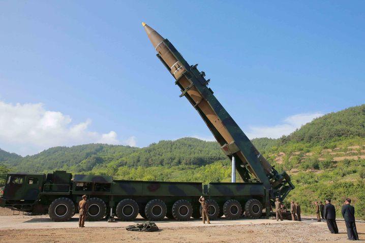 Nordkoreanische Interkontinentalrakete