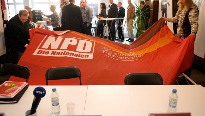 NPD in Neuruppin: Rechte küren neuen Parteivorsitzenden