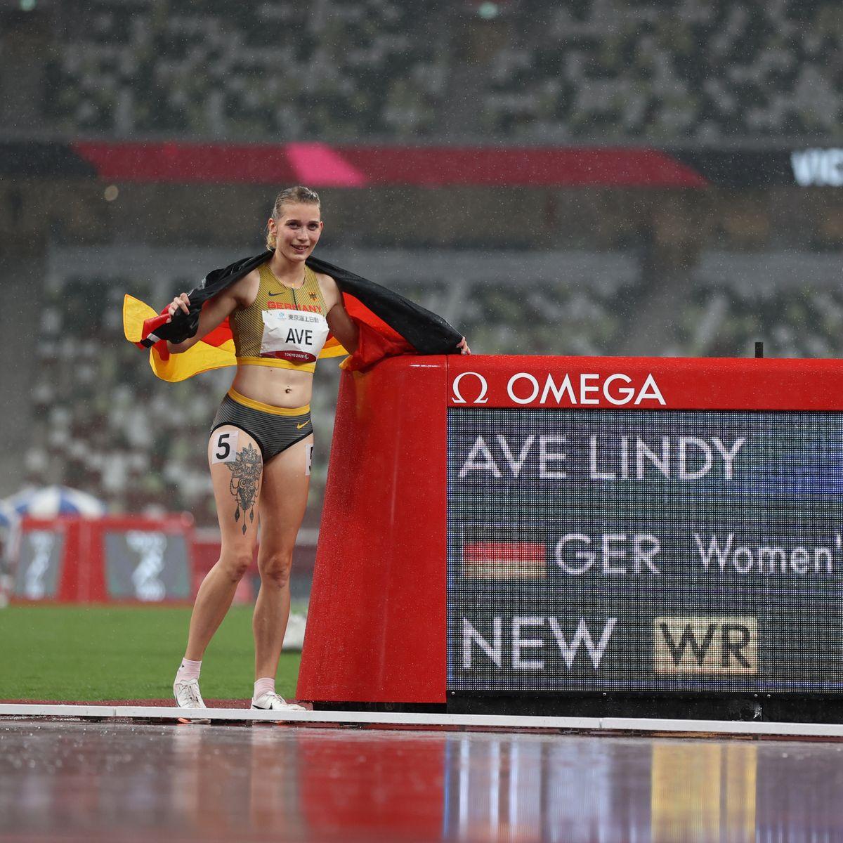 Paralympics 2021: Lindy Ave läuft auf 400 Metern Weltrekord in genau einer  Minute - DER SPIEGEL