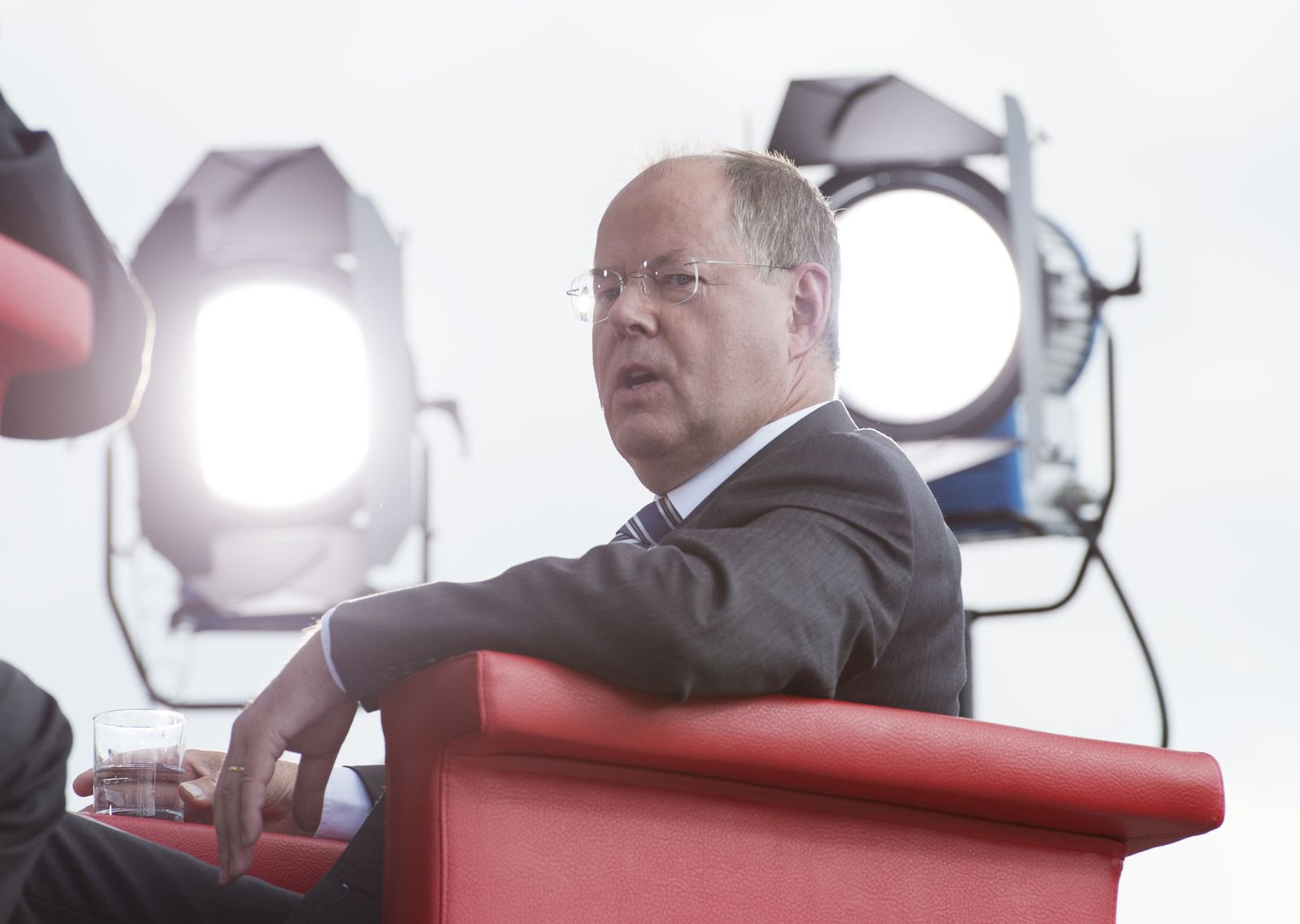 ARD-Sommerinterview mit Peer Steinbrück