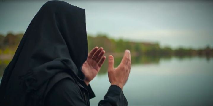 Propagandavideo von Abu Walaa (Archivbild)