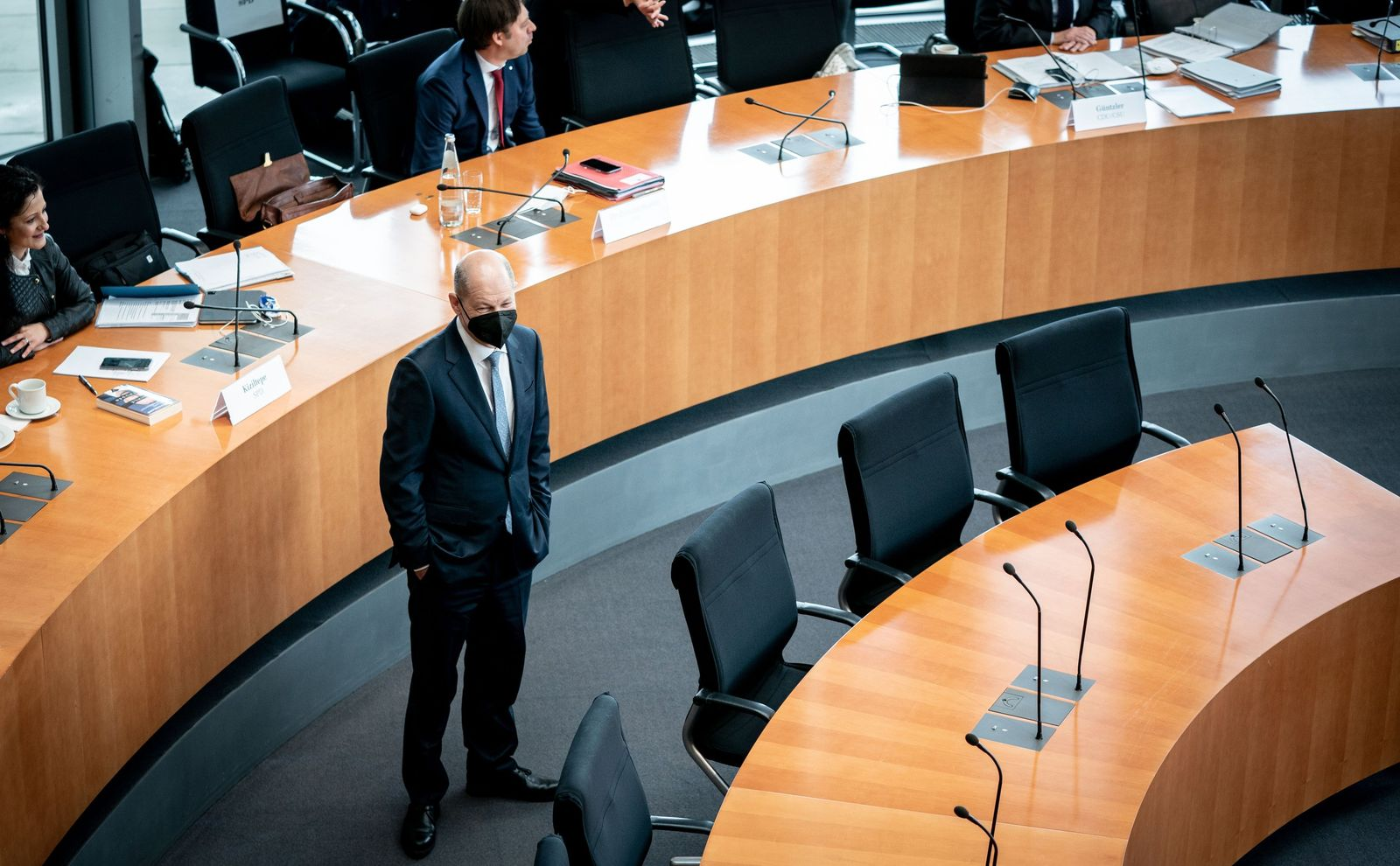 Untersuchungsausschuss zum Wirecard Bilanzskandal - Scholz
