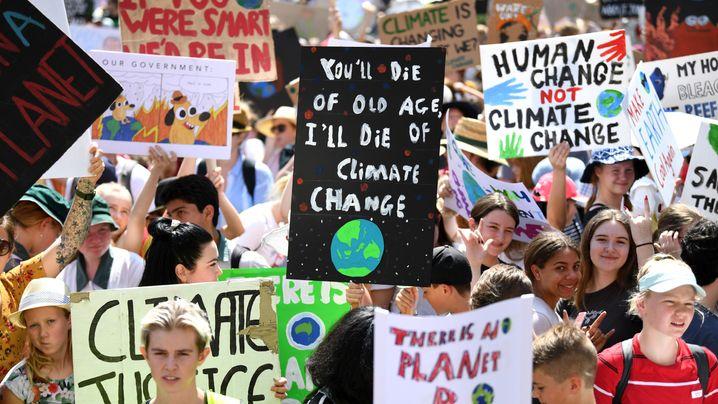 """Weltweiter Klimastreik: """"Auf einem toten Planeten gibt es keine Jobs"""""""