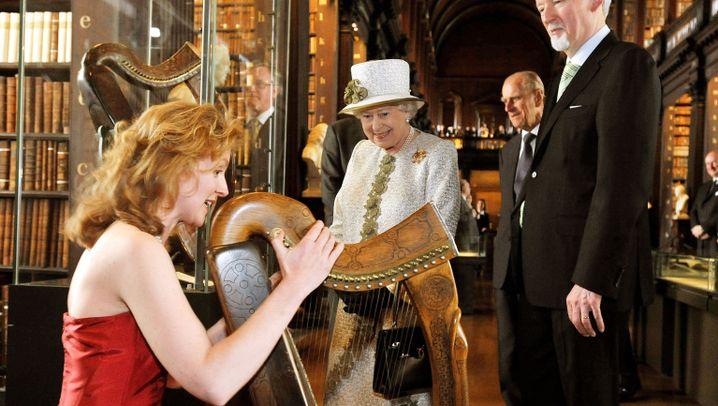 Queen in Irland: Randale gegen die Royals