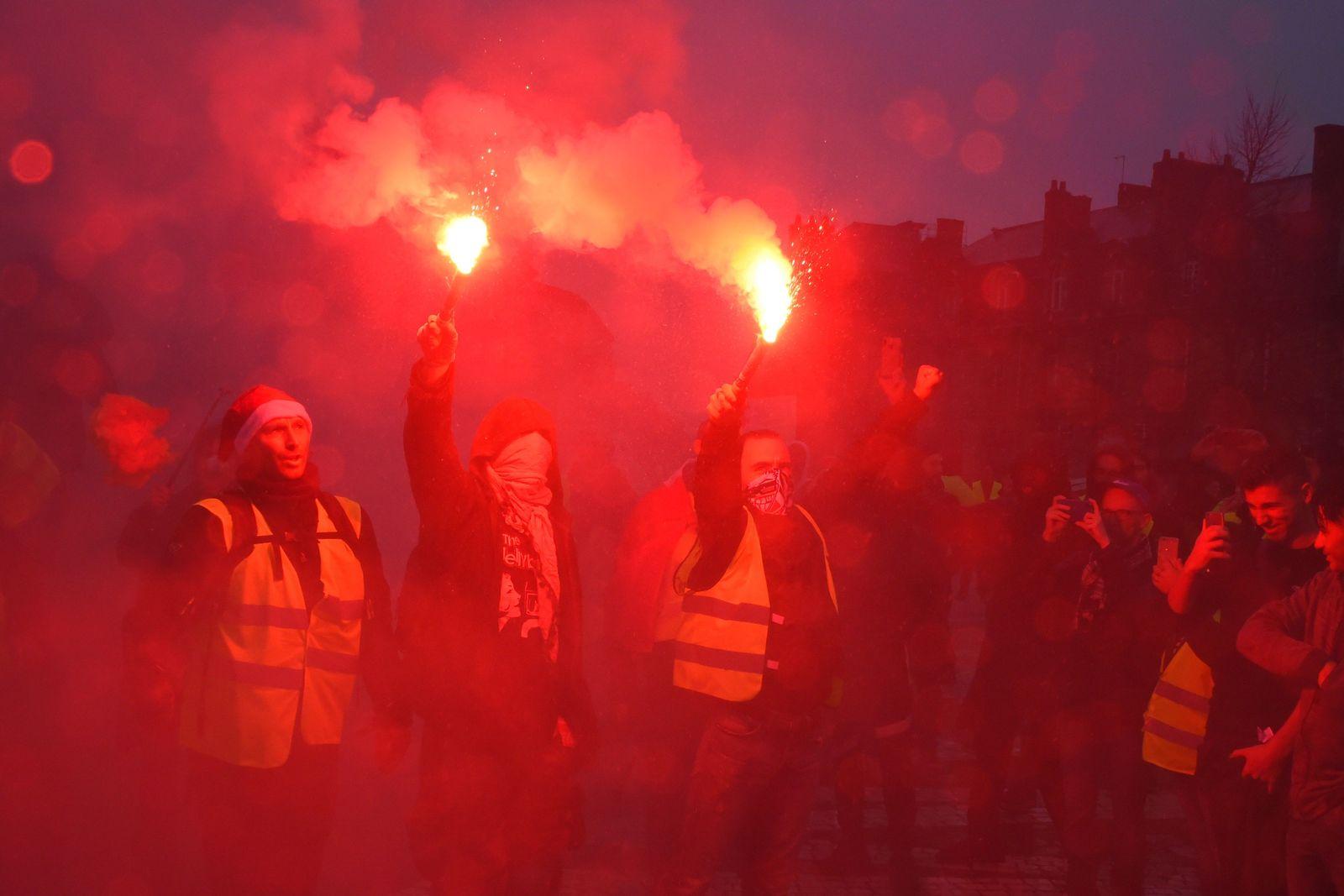 Gelbwesten / Proteste