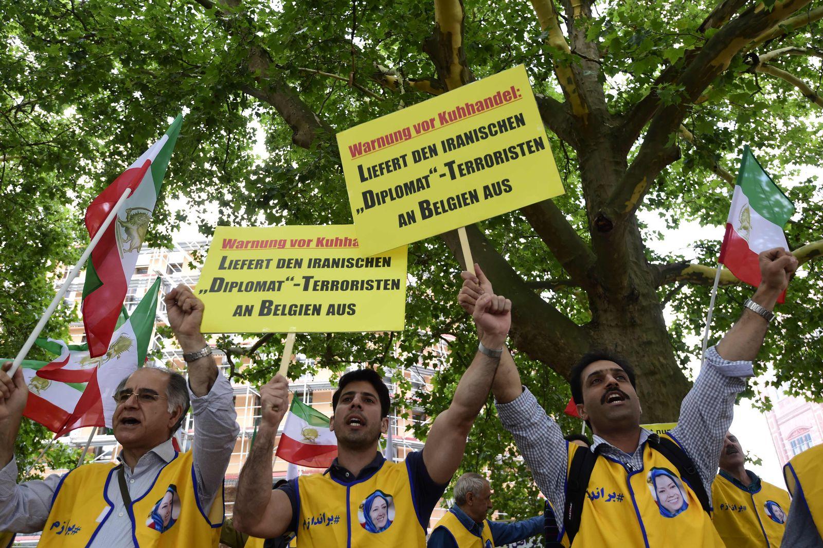 Auslieferung Iraner Belgien