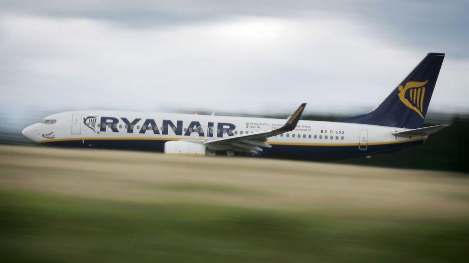 Ryanair-Maschine (Archivbild)