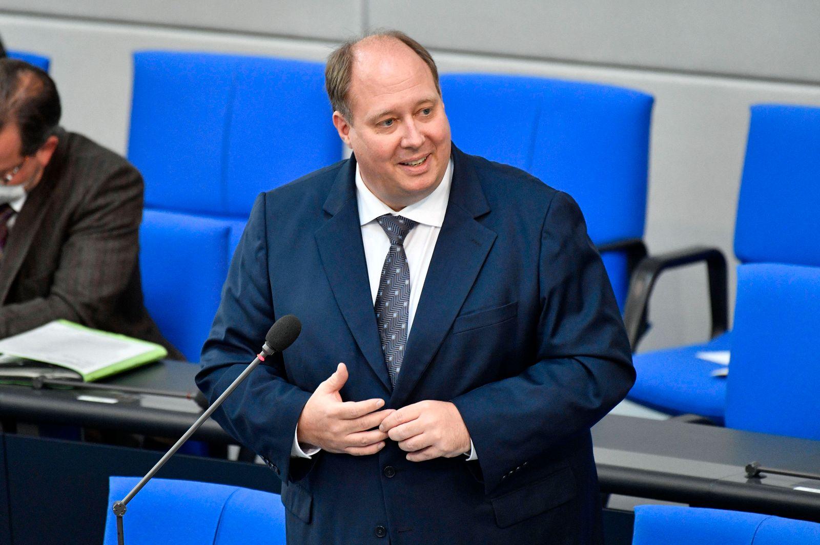 Helge Braun in der 226. Sitzung des Deutschen Bundestages im Reichstagsgebäude. Berlin, 05.05.2021 *** Helge Braun at th