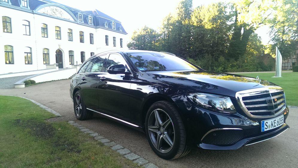 Mercedes E-Klasse T-Modell: In ganzer Pracht und Fracht