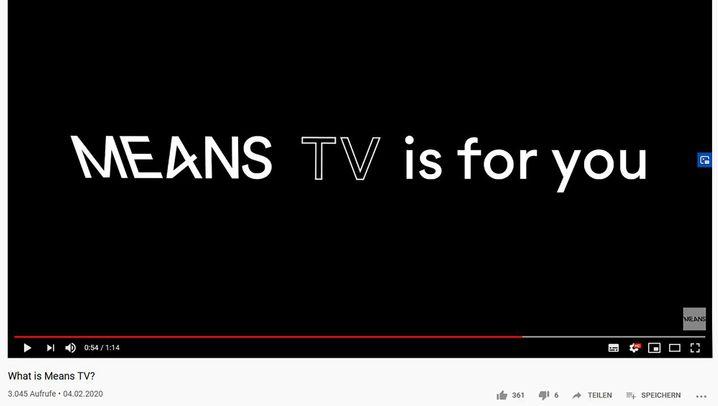 Means TV: Die Macher und ihr Programm