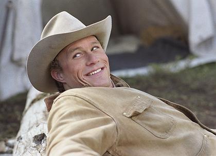 """Kino-Ikone: Heath Ledger in """"Brokeback Mountain"""""""