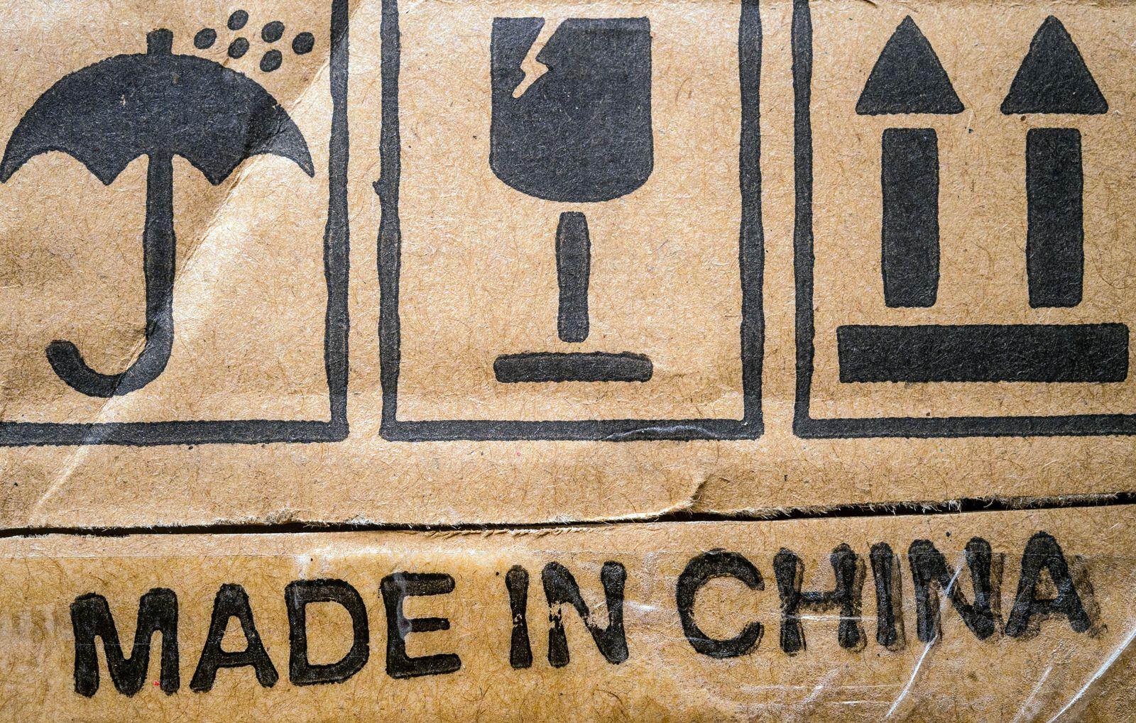 EINMALIGE VERWENDUNG Wirrschaft/ Handelsstreit/ USA/ China