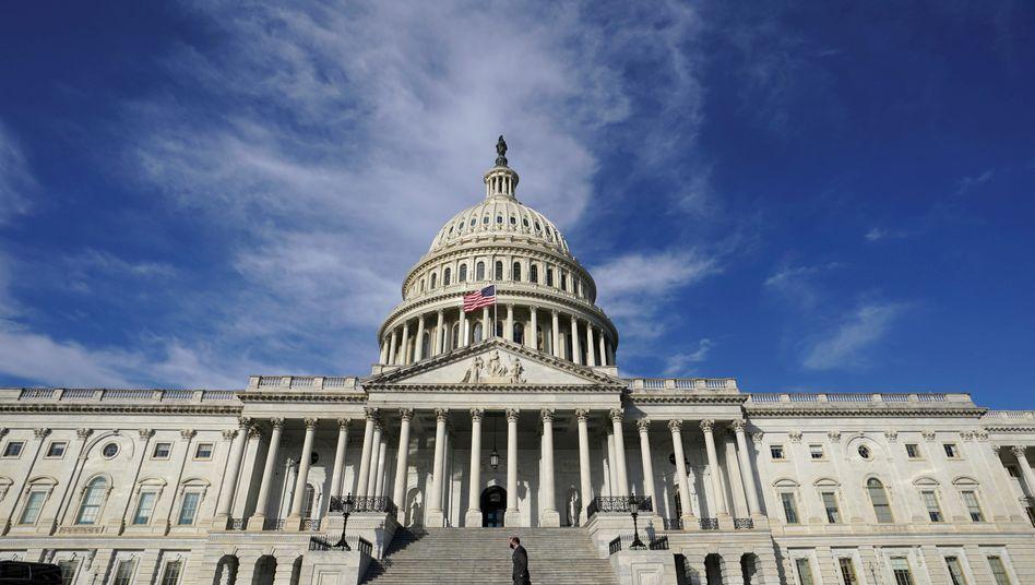 Das US-Kapitol in Washington
